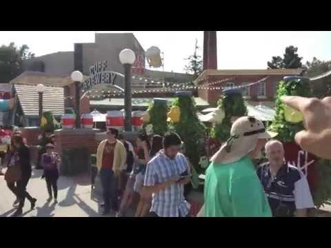 Jurassic Park Ride Through & Springfield at Universal Sometimes Vlog!