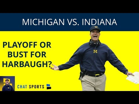 2018 Michigan Vs Indiana Football: Preview, Point Spread, Game Time, TV Channel + Heisman/CFP