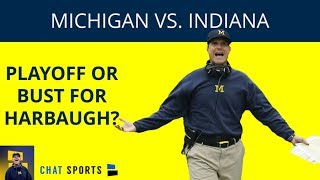 2018 Michigan vs Indiana Football: Preview, Point Spread, Game Time, TV Channel + Heisman/CFP Odds