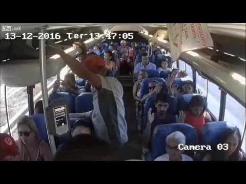 Video Terbaru Perampokan di Dalam Bus