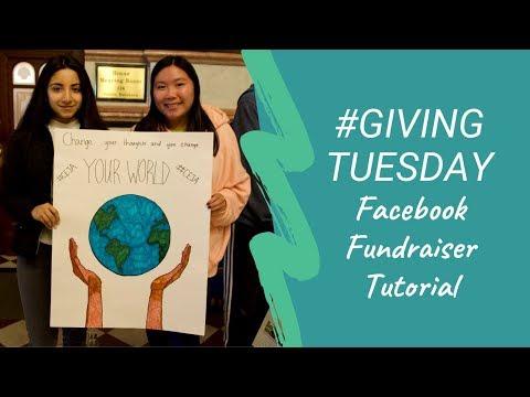 #GivingTuesday Facebook Tutorial