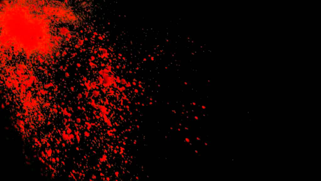 Black Background with blood - YouTube