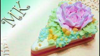 Мыло тортик/Своими руками/Мыловарение/Мыло торт/Кремообразная основа/Anisa-Творческие МАСТЕР КЛАССЫ