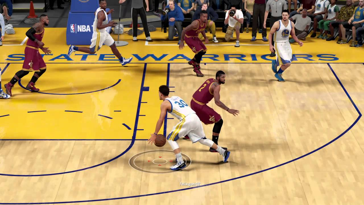 NBA 2K16 2015 NBA FINALS REMATCH!!! STEPHEN CURRY CROSSES ...