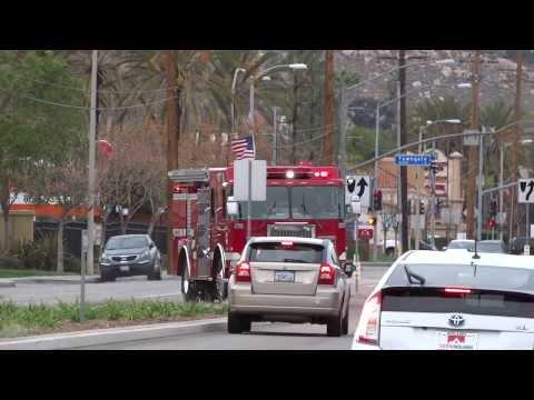 Moreno Valley California Fire Department Paramedic Response