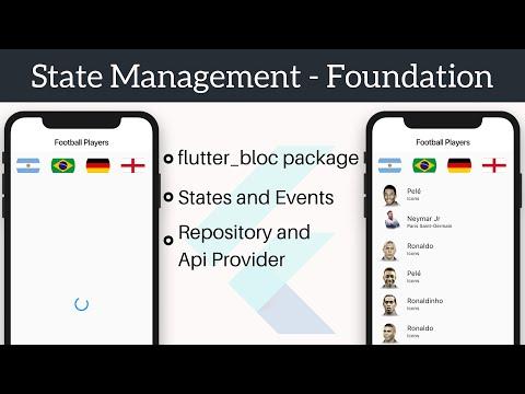 State Management   Foundation - flutter_bloc package   Part 1