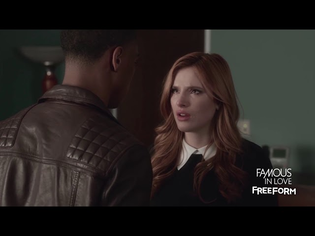 Interracial kiss - Famous In Love
