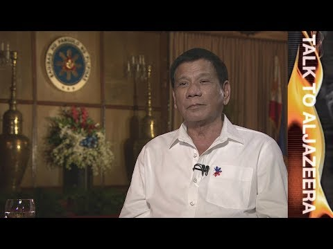 Rodrigo Duterte on drugs, death and diplomacy | Talk to Al Jazeera