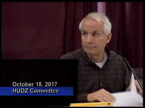 Housing Urban Development Zoning Committee  October 18, 2017