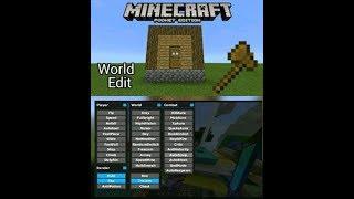 El mejor hack con el world edit del mundo para Minecraft  PE 1.2.13 Video