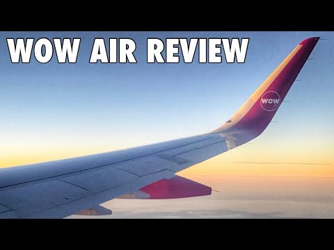 WOW air review - Amsterdam to Keflavik Iceland