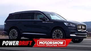 2019 Lincoln Aviator : Just lacks wings : 2018 LA Auto Show : PowerDrift