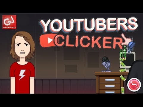 """""""APPROVE MY PERSONAGE"""" - Let's Play YouTubers Clicker (Badly)"""