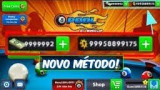 multiplicando  fichas 8 Ball Pool novo método