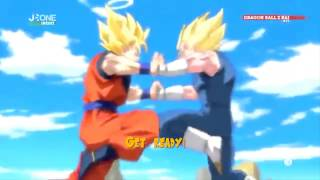 Dragon Ball Z KAI Opening: -Fight it out! Lyrics HD