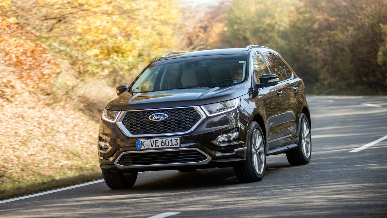 ford edge vignale 2018 car review youtube. Black Bedroom Furniture Sets. Home Design Ideas