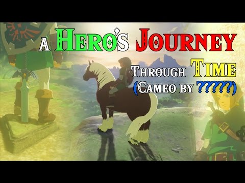 A Hero's Journey Through Time! ..OoT Link (Cameo by ?????) in Four Links Adventures with Zelda BotW