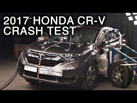 2017 Honda CR-V Side Crash Test