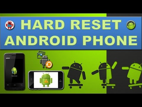How to hard reset any android device? - YouTube