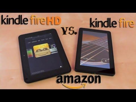 Amazon Kindle Fire HD Vs. Kindle Fire (2012)   Kindle Fire HD Review   Dogfight