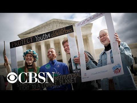 Kids' lawsuit over climate change hits Supreme Court roadblock