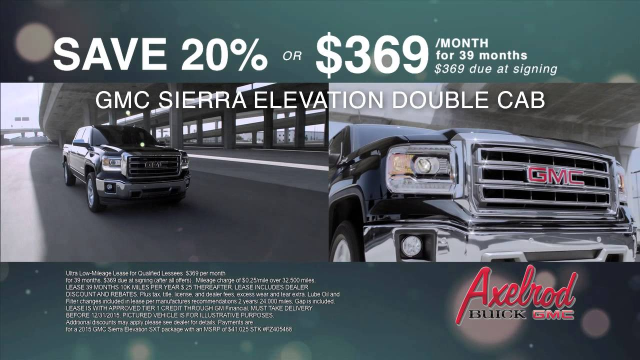 and tustin lease payments buick monthly select at leasing for gmc sierra specials