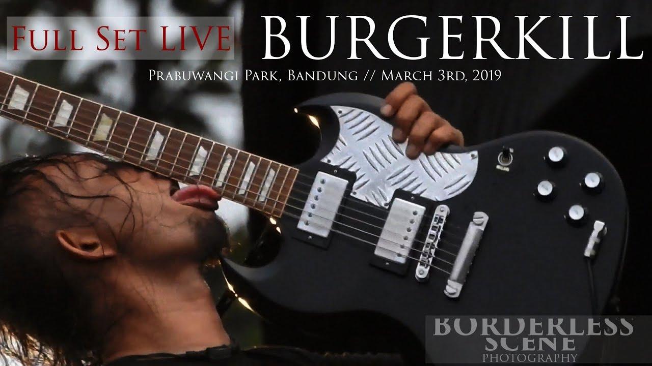 BURGERKILL @ Prabuwangi Park Bandung 2019 [Full Set LIVE]