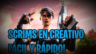 NEW ISLAND ! SCRIMS IN CREATIVE TEAM ZTE FORTNITE // live // direct // Spanish // free Ps4
