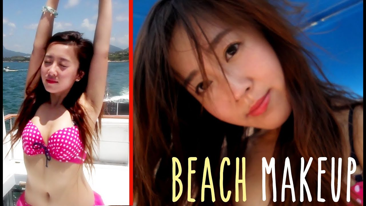beach makeup youtube