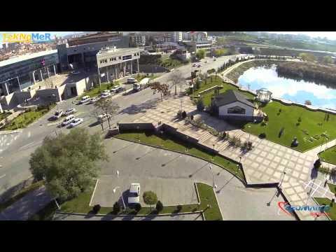 Multikopter ile Ankara Gölbaşı havadan görüntüleme