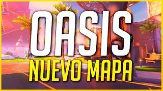 OVERWATCH: UN PASEITO POR EL NUEVO MAPA OASIS | Makina