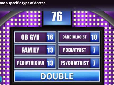Name A Specific Type Of Doctor.