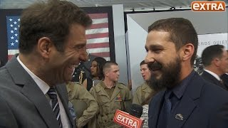 Shia LaBeouf on Losing a Tooth for 'Fury,' Getting His Act Together