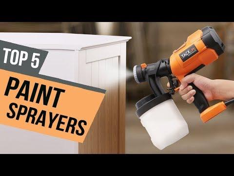 5 Best Paint Sprayers 2019 Reviews