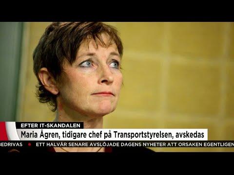 Transportstyrelsens förra chef får sparken - Nyheterna (TV4) - YouTube