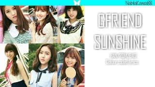 Gfriend  여자친구  - Sunshine | Han/rom/eng Lyrics