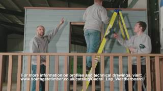 How to Fit Marley Cedral Cladding