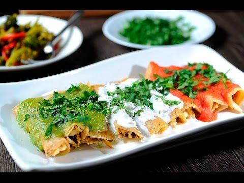 Enchiladas mexicanas - Recetas de antojitos mexicanos