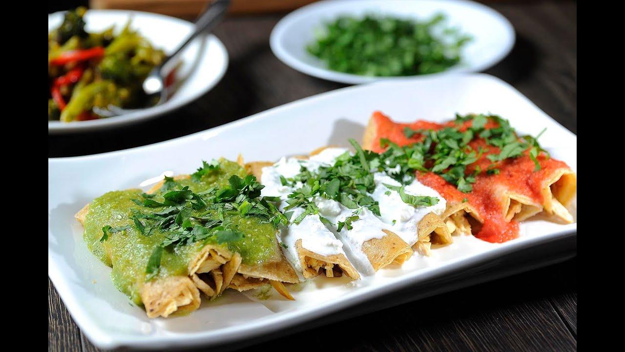 Enchiladas mexicanas - Recetas de antojitos mexicanos ...