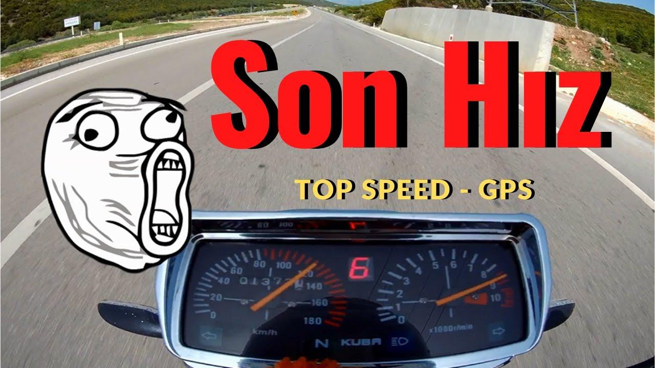 Kuba Çita 180 R Gold Hız Denemesi Son Hız Top Speed GPS