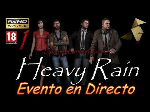 Heavy Rain Parte 1# Campaña completa Español DIRECTO playstation 3 Full HD 1080p