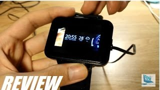 REVIEW: DM98 FULL Android 5.1 Smart Watch Phone!