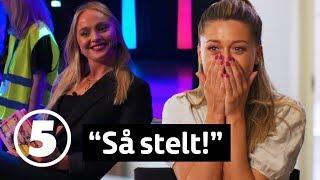Wahlgrens värld   Bianca & Alice kör livepodd för jätteung publik - blir det sexsnack?