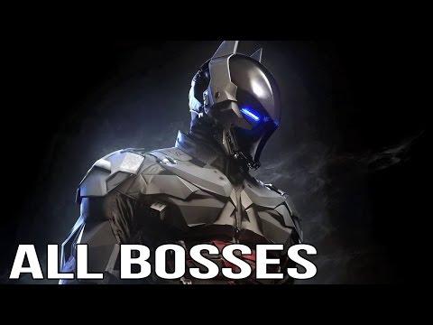 Batman Arkham knight - All Boss Fights (All Bosses)