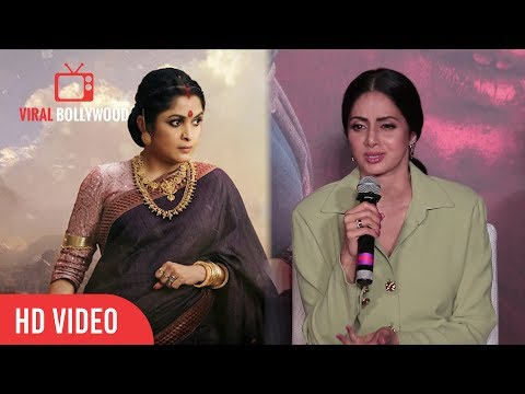 Sridevi Reaction on Rejecting Sivagami Role in Baahubali | Sridevi as Sivagami