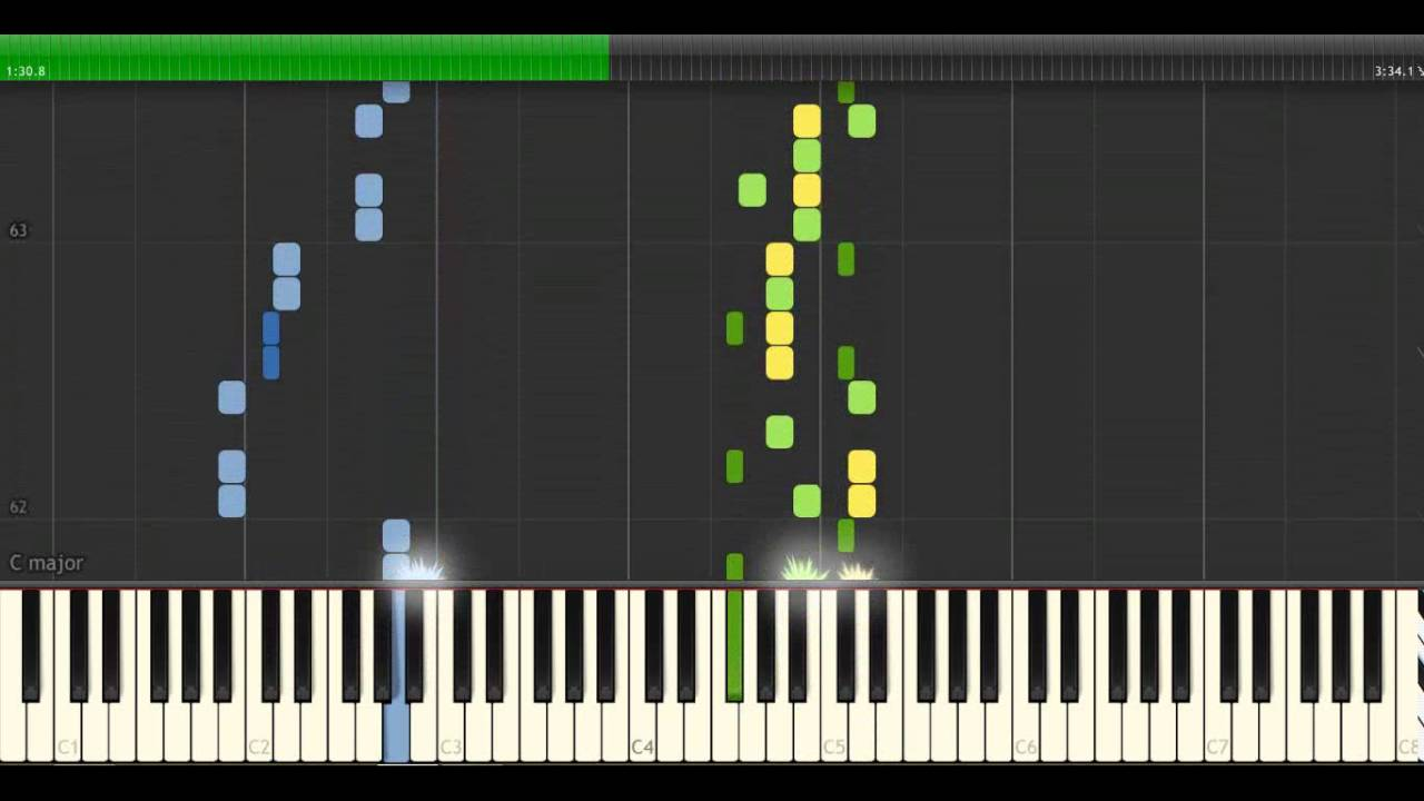 how to play the strokes on piano
