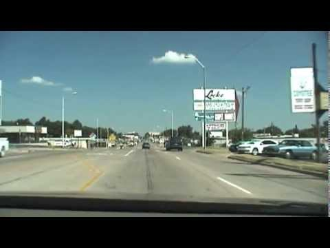 """Chickasha, OK """"Dragging Main Street"""" (Route in 50's & 60's)"""