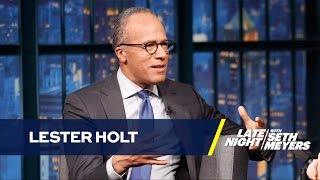 Lester Holt Thinks Public Needs to See Obama and Trump Together