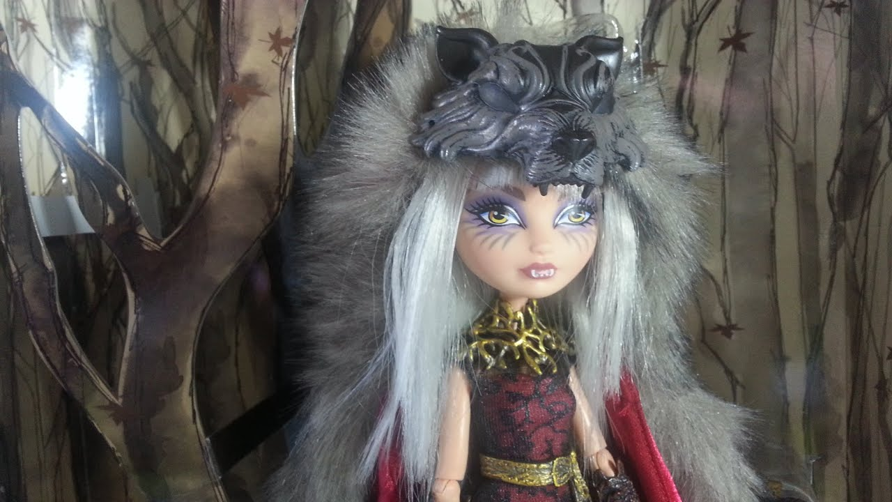 Review Ever After High Cerise Wolf SDCC 2014 - YouTube