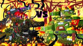 Все серии Стального демона Фиджерона + бонусная концовка - Мультики про танки